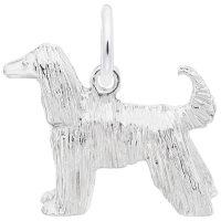 Afghan Dog Charm