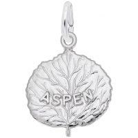 Aspen Leaf Charm