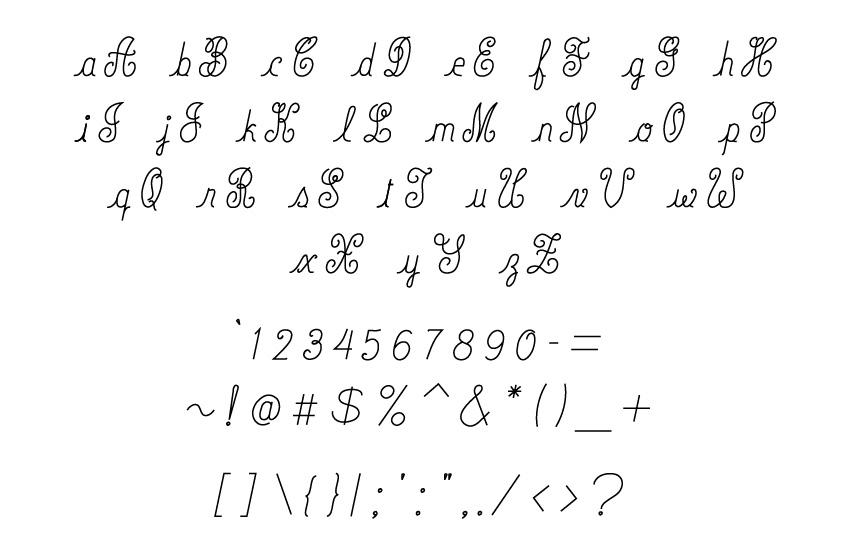 Engraving Script