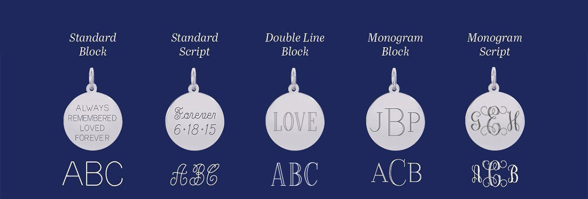 Engravable Rembrandt Charms Cruise Ship
